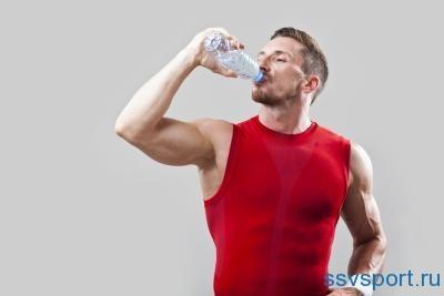вода и сывороточный протеин