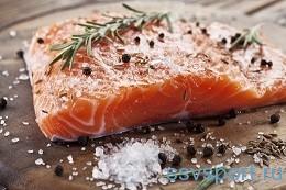 Какие продукты нужны мозгу - жирная рыба