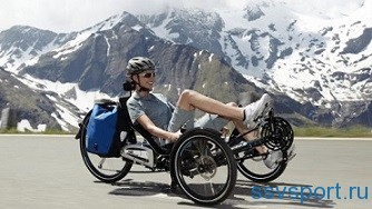 Трехколесный велосипед для взрослых